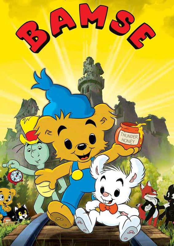 DVD Bamse